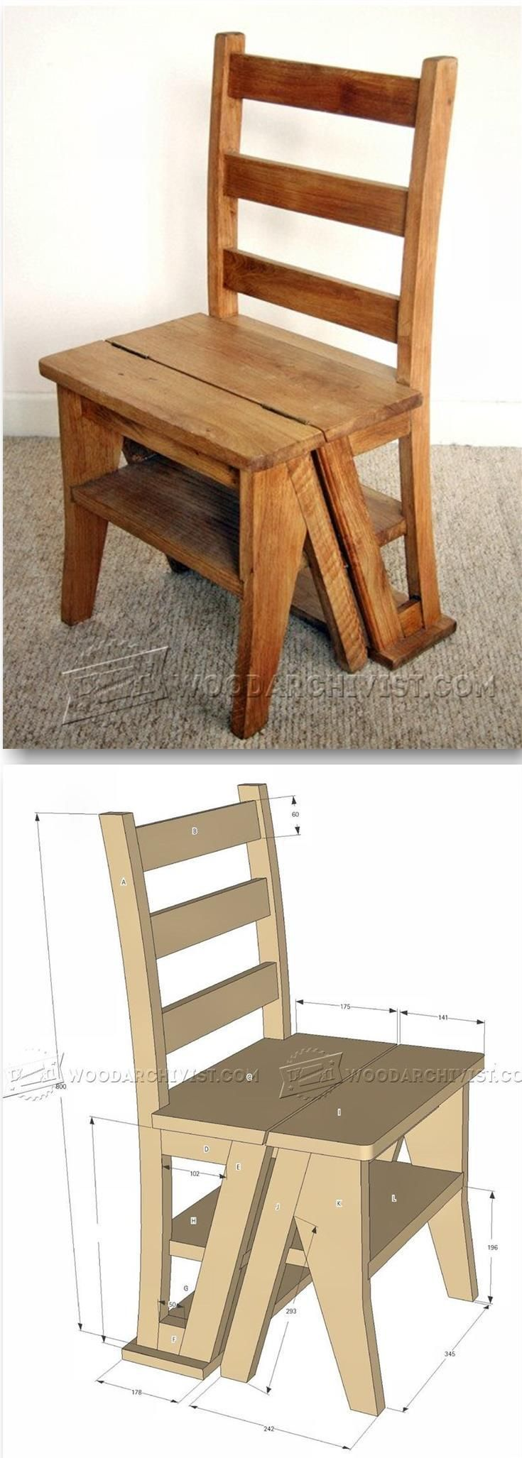 Make Step Stool - Furniture Plans and Projects   WoodArchivist.com