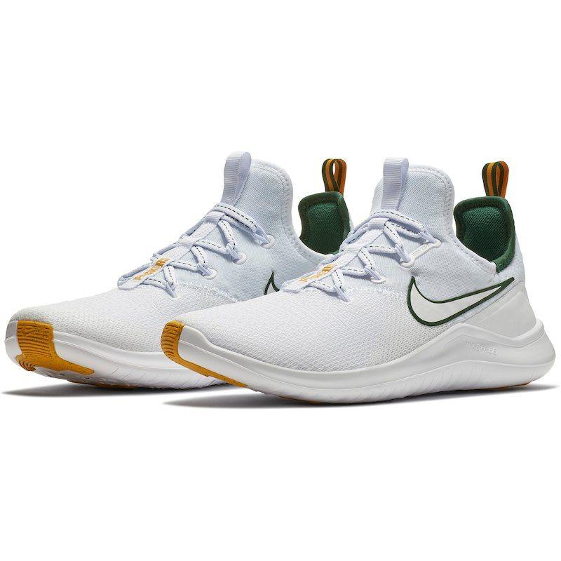 42fe0406 Green Bay Packers Nike Women's Free TR 8 Shoes – White/Green ...