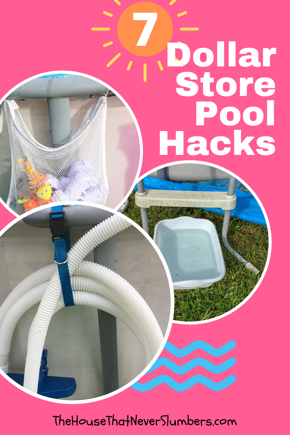 Dollar Store Pools : dollar, store, pools, Cheap, Dollar, Store, Hacks, House, Never, Slumbers, Hacks,, Pool,, Cleaning