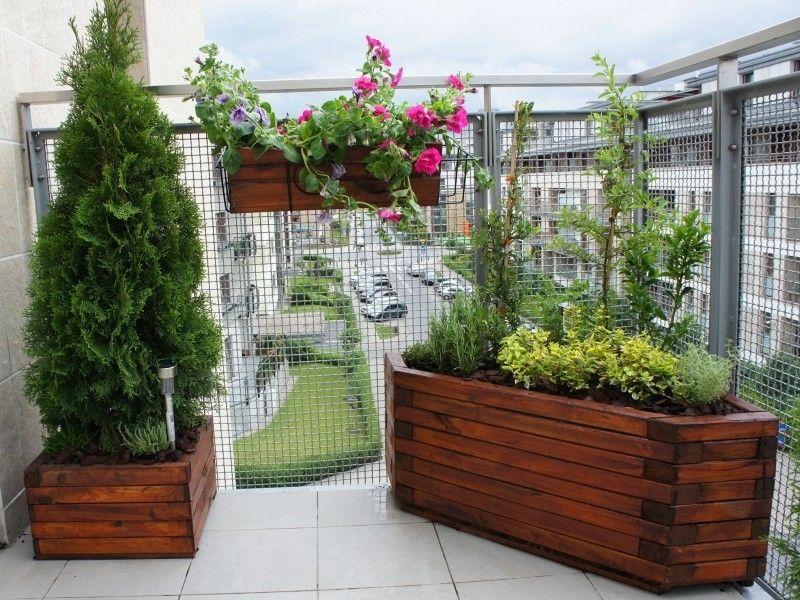 Aranzacje Balkonu Szukaj W Google Balcony Design Balcony Planters Balcony