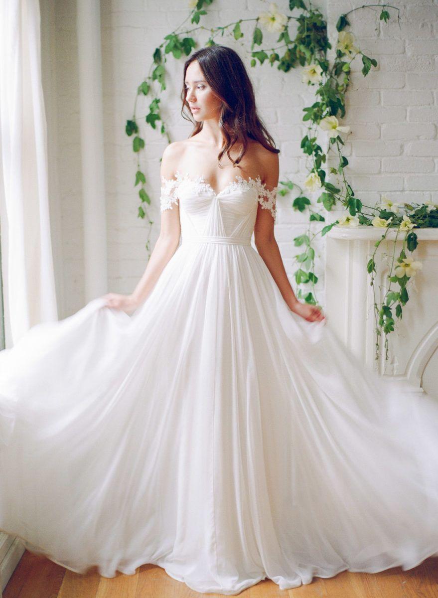 Http Www Kaylabarker Com Blog Gallery Tatyana Merenyuk Lookbook A Line Wedding Dress Bridal Dresses Dream Wedding Dresses