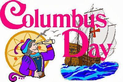 Happy Columbus Day Holiday Clip Art Happy Columbus Day Columbus Day Holiday Columbus Day