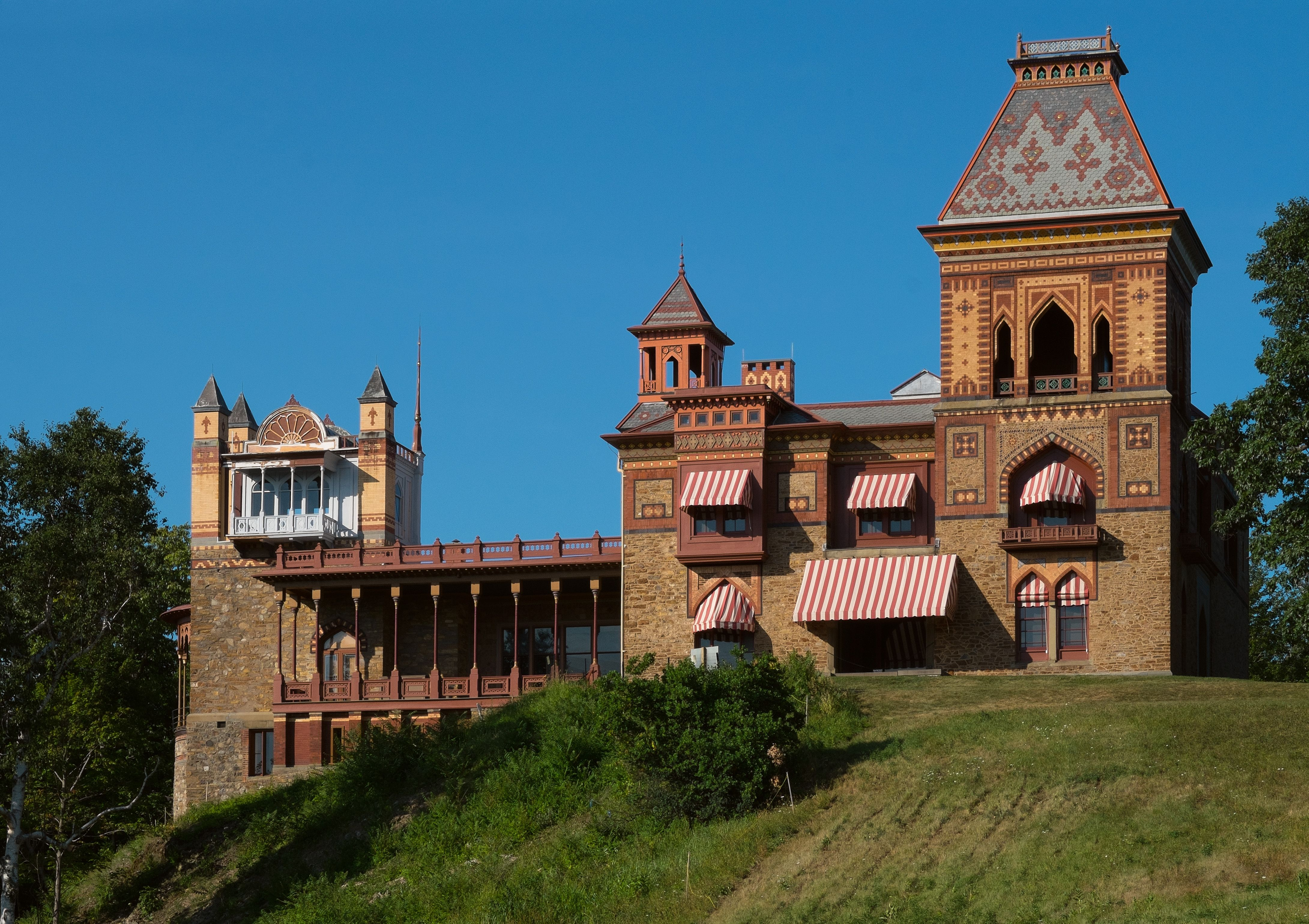 Olana State Historic Site In New York S Hudson River Valley Is On