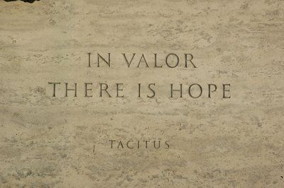 In Valor there is Hope.