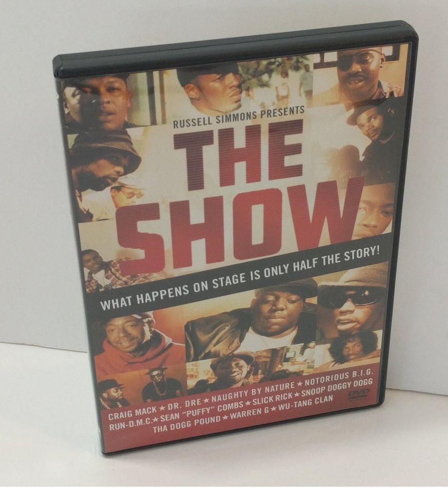 The Show Dvd 2004 Dr Dre Notorious B I G Snoop Wu Tang Run Dmc