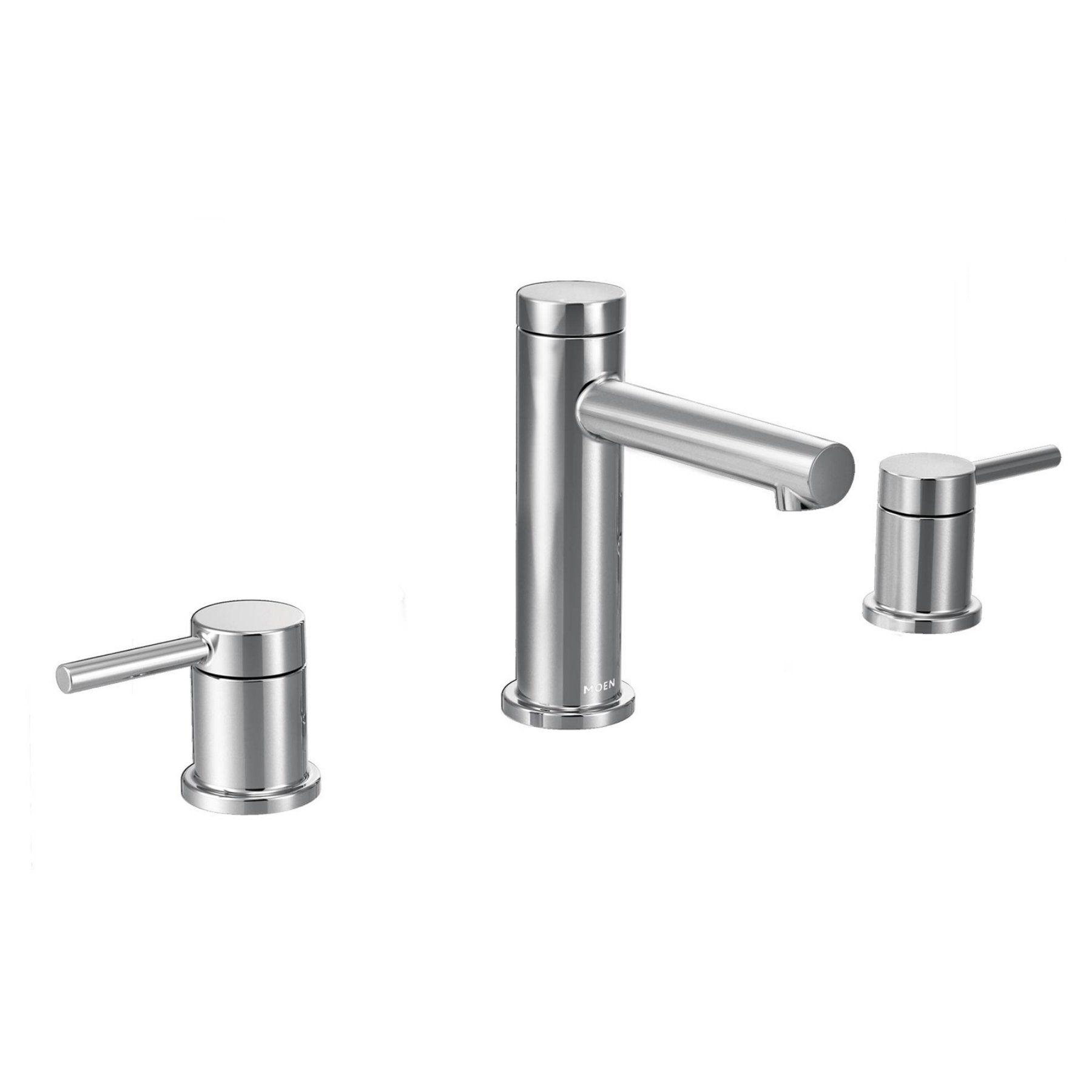 Moen Align Chrome Two-Handle High Arc Bathroom Faucet - MT6193 ...