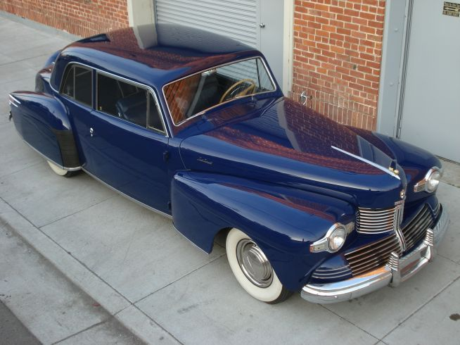 1942 Lincoln Zephyr Continental Club Coupe 1941 To 1950 Carz