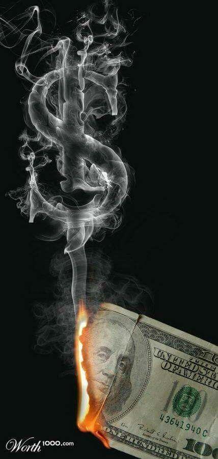 Burning Money Smoke Wallpaper Smoke Art Money Tattoo Cool smoking picture wallpaper