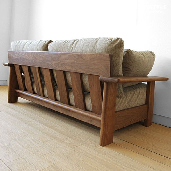 Full Cover Ring Sofa Domestic Production Wooden 2p Reck Wn Net Limited Original Setting Of The Frame Made By Walnut Materials