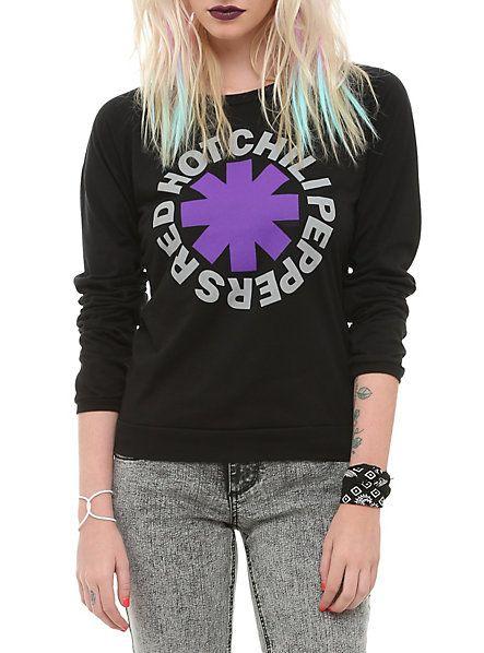 Red Hot Chili Peppers Logo Raglan Girls T-Shirt | Hot Topic