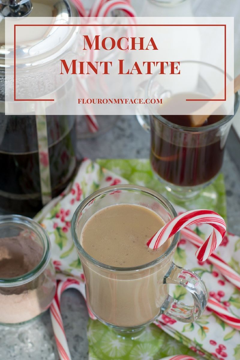 Celebrate the holiday season with this easy Mocha Mint