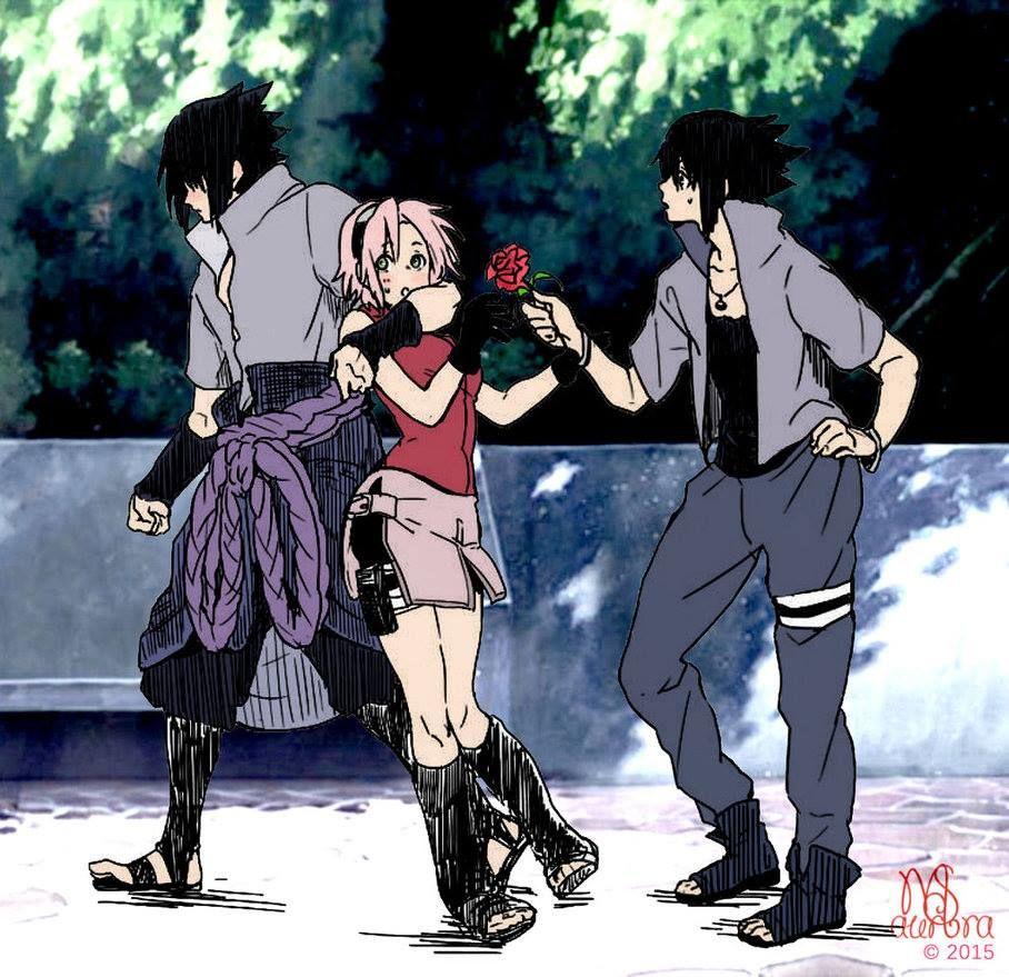 Saske Photo: Sasuke,sakura and Sasuke?