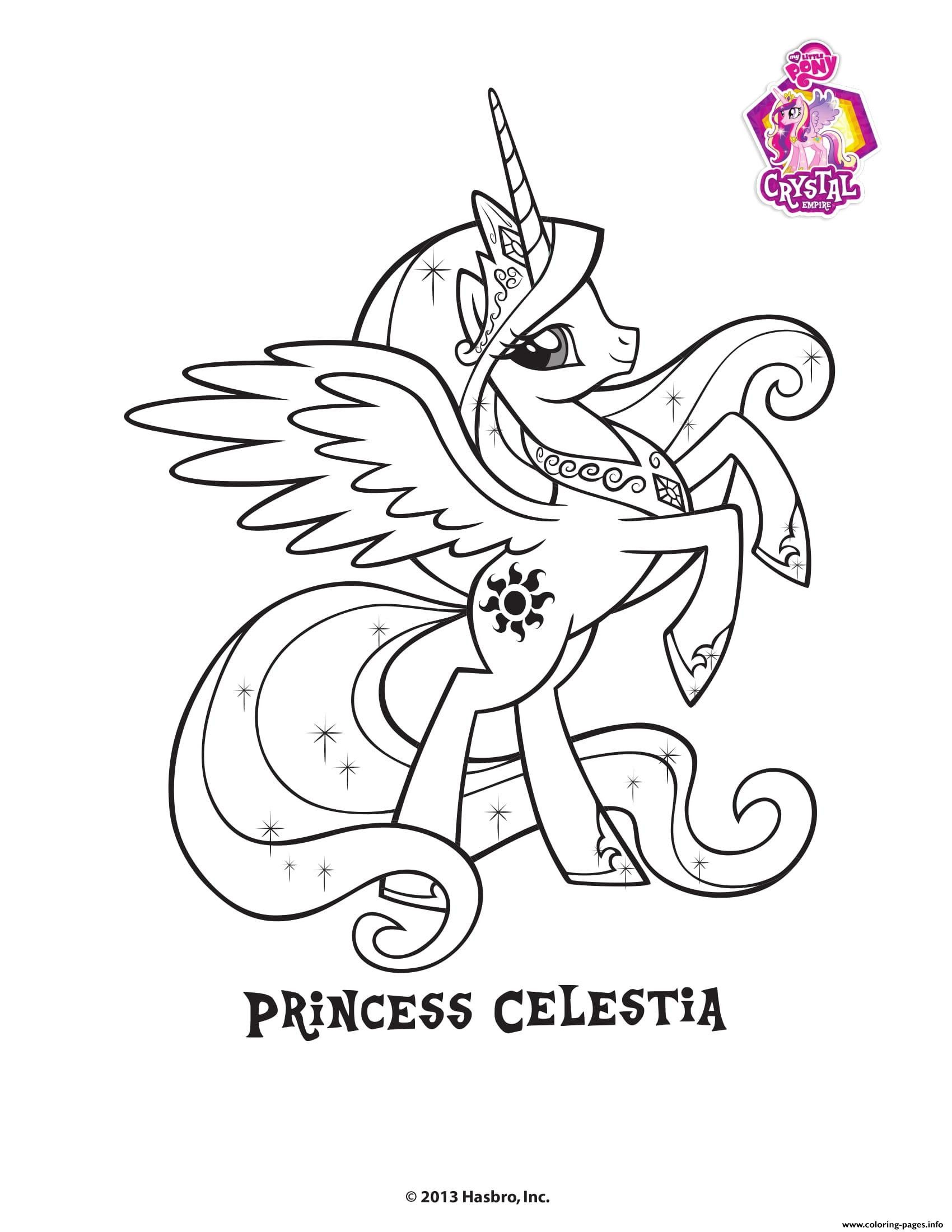 Princess Celestia Coloring Page Youngandtae Com My Little Pony Coloring Unicorn Coloring Pages Coloring Pages
