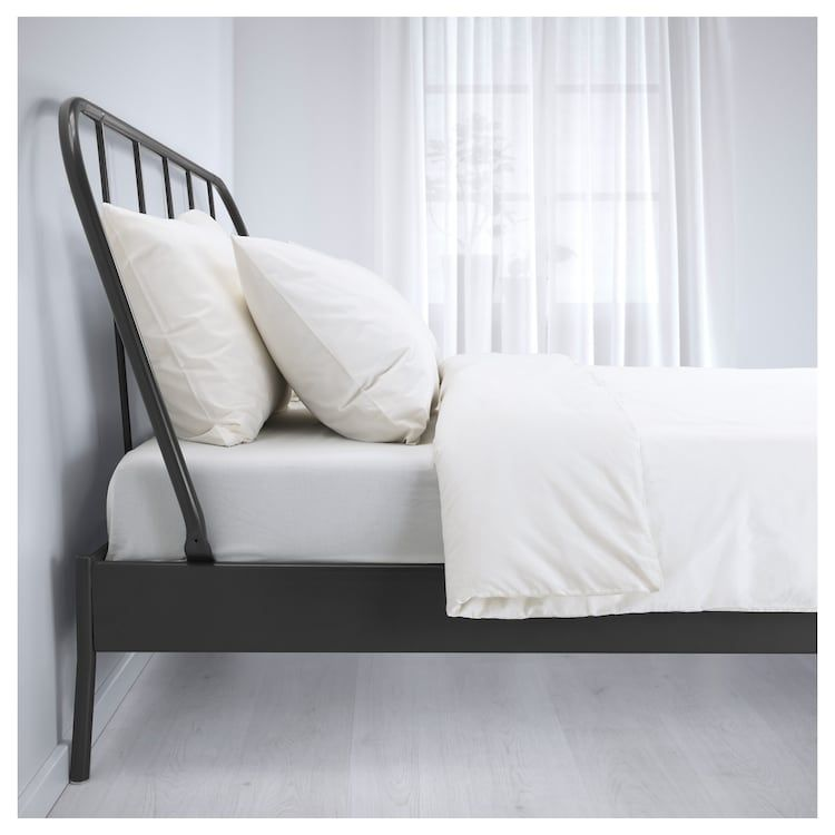 Ikea Kopardal Gray Luroy Bed Frame Grey Bed Frame Ikea Bed