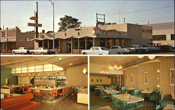 Latif S Restaurant In Turlock Ca Still Looks Exactly The Same From This 1960 Postcard Love It