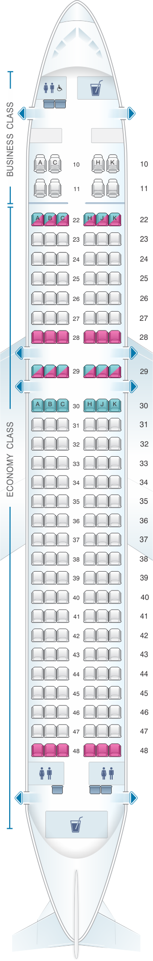 cathay pacific 333 seat map Seat Map Cathay Dragon Airbus A320 200 Airlines Airbus Map cathay pacific 333 seat map