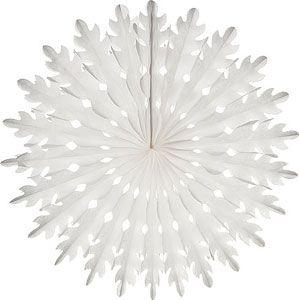 "White Paper Honeycomb 14/"" Chandelier Decoration"