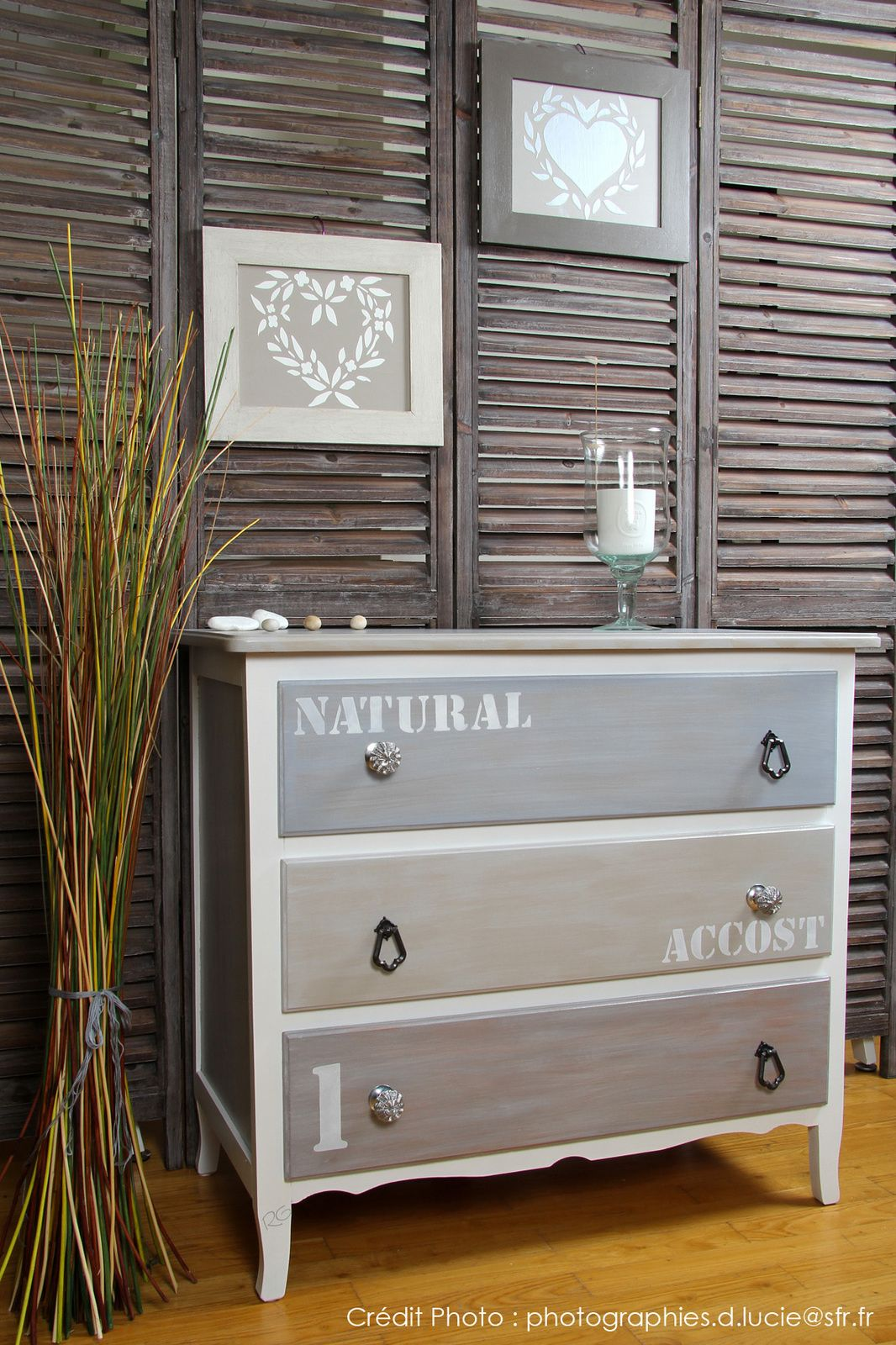 commode customis e nordique chic buffet dresser and chalk paint. Black Bedroom Furniture Sets. Home Design Ideas