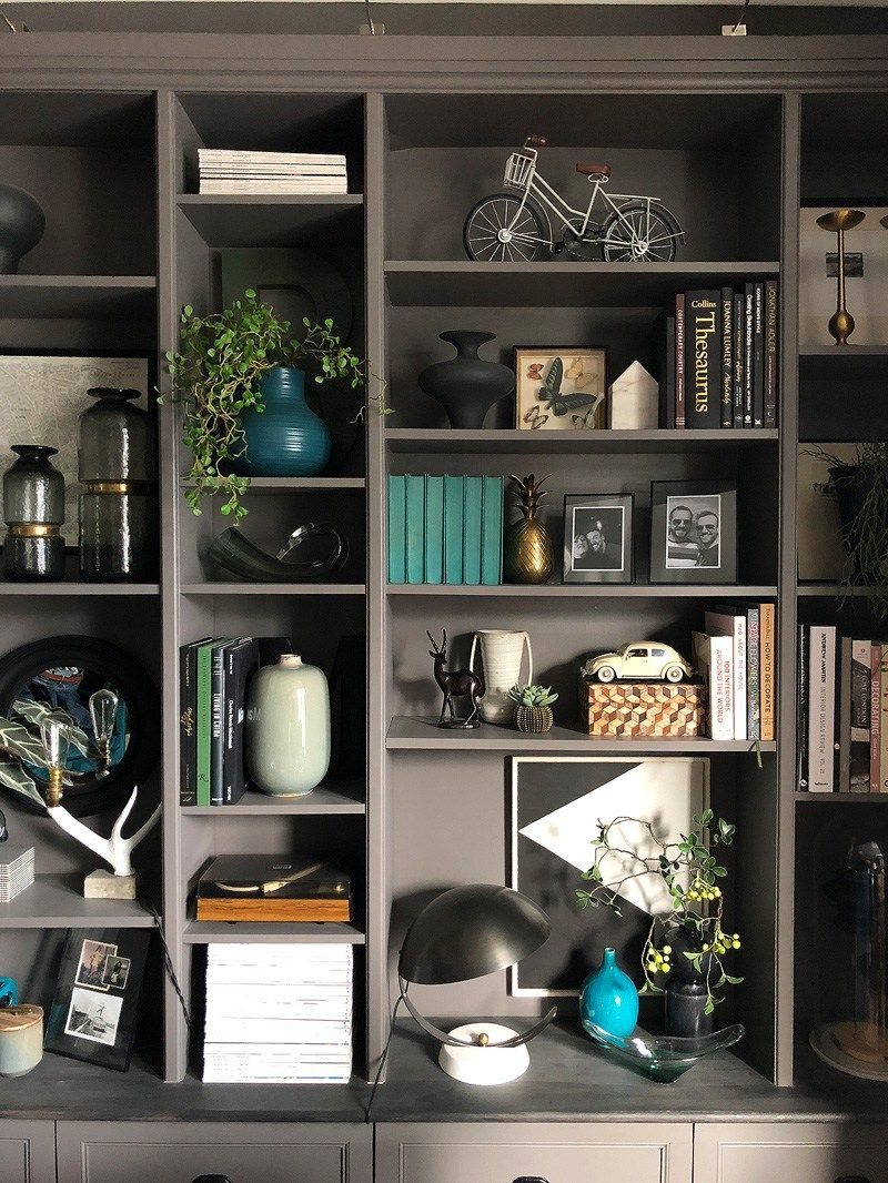7 Shelf Styling Tips For A Perfect Display Shelf Styling