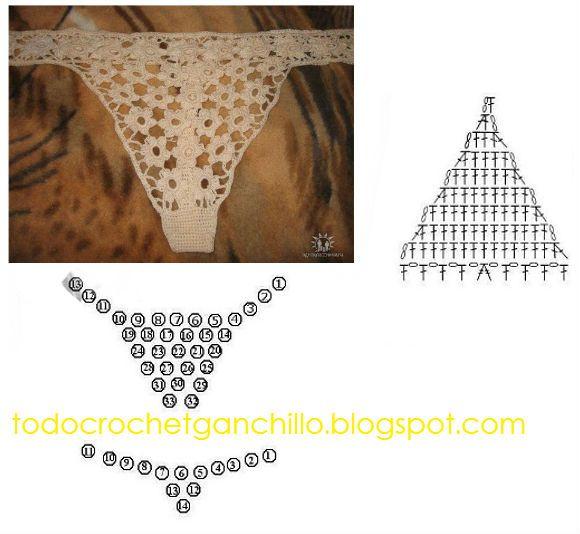 Todo crochet | puntos | Pinterest | Crochet, Crochet Bikini y ...