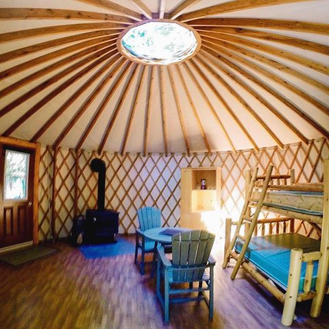 A Look Inside The Yurts At Bruce Peninsula National Park S Cyprus