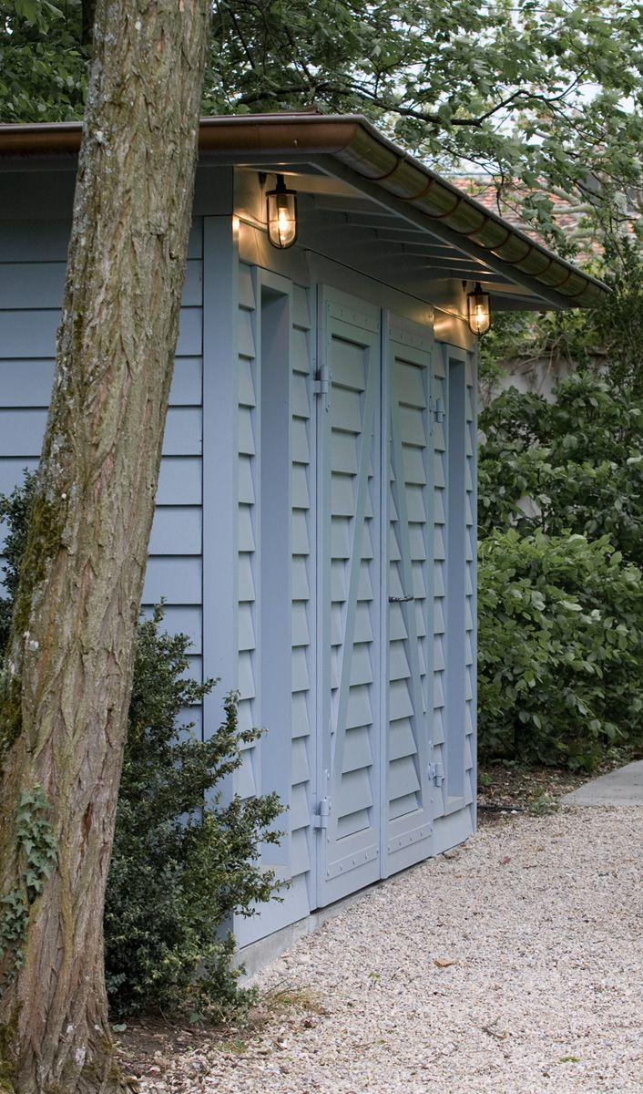 Gartenleuchten Rattan I Like The Lanterns And The Color Painted Garden Shed Should I