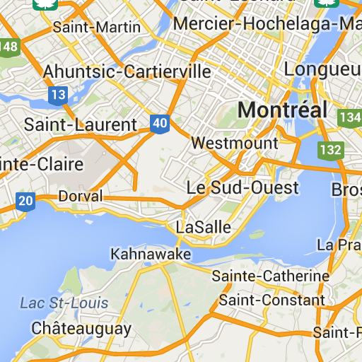 montrealquebec Google Maps Montreal City Province of Quebec