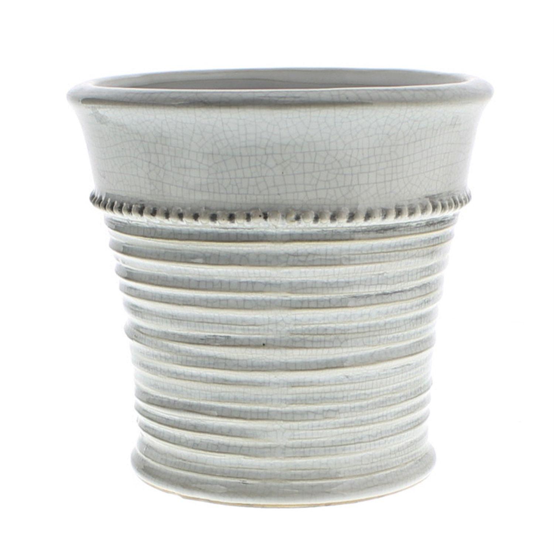 Large Provence Ceramic Cachepot By Homart Ceramics Urn Planters Planters