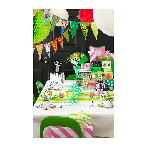 verl gsen accessoires f te 27 pces ikea anniversaire pinterest anniversaire papier. Black Bedroom Furniture Sets. Home Design Ideas