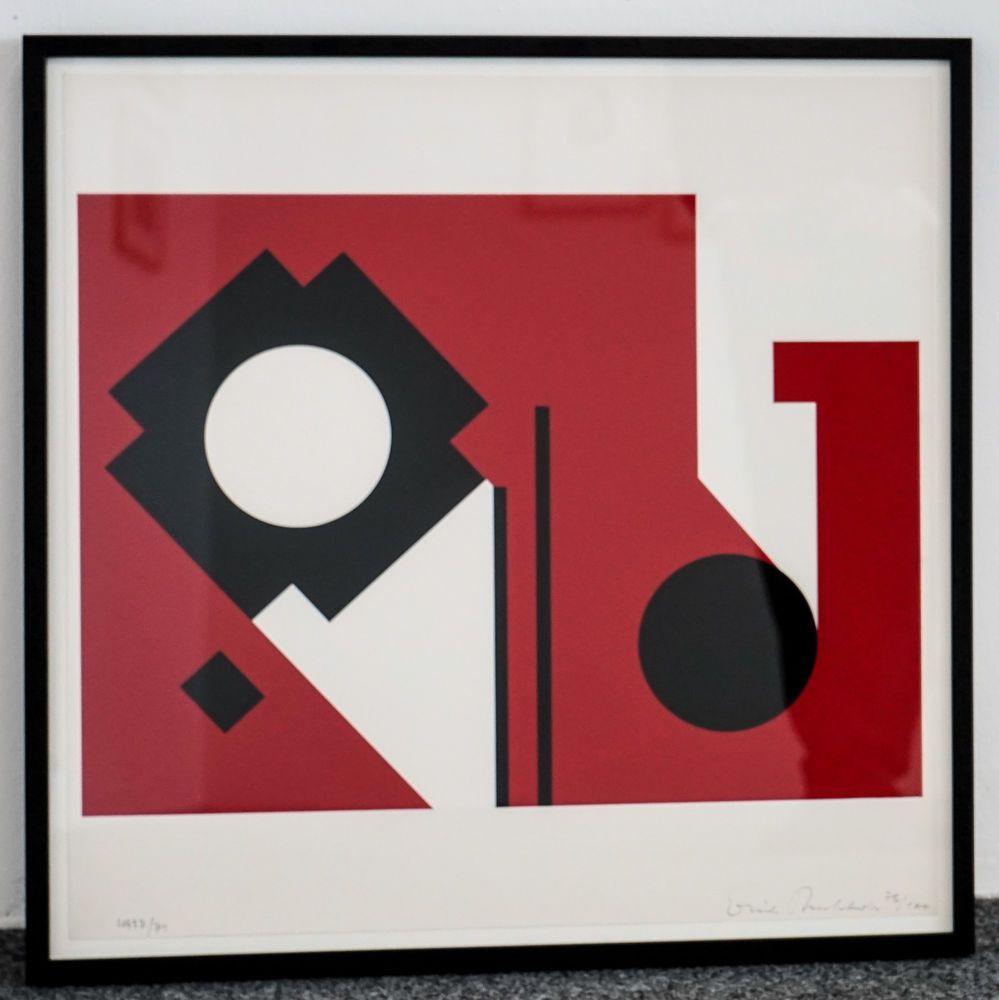 Bauhaus Buchholz erich buchholz abstraktion iv 65cm x 65cm sign num