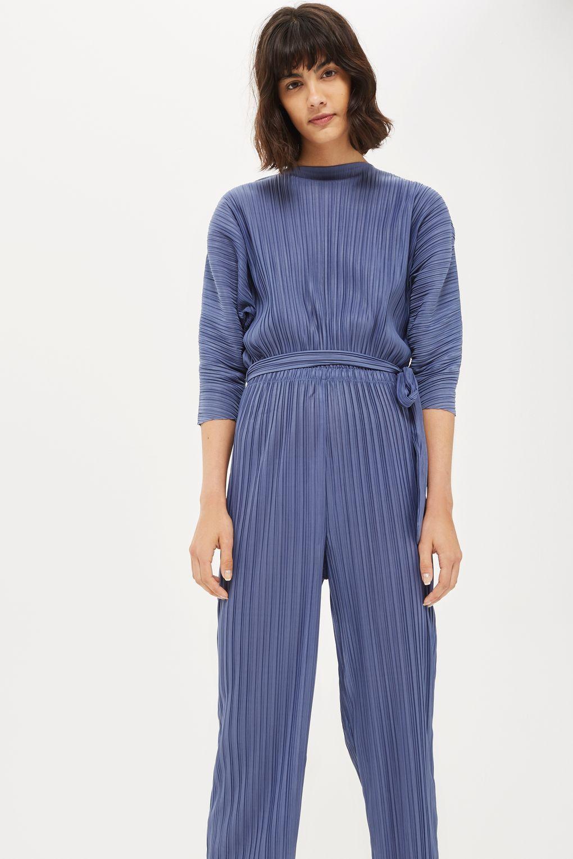 ac4679f7efc Batwing Plisse Jumpsuit - Playsuits   Jumpsuits - Clothing - Topshop