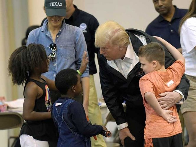 Image result for Houston Churchgoer Says Incredible Thing About Trump's Visit That Will Melt Your Heart