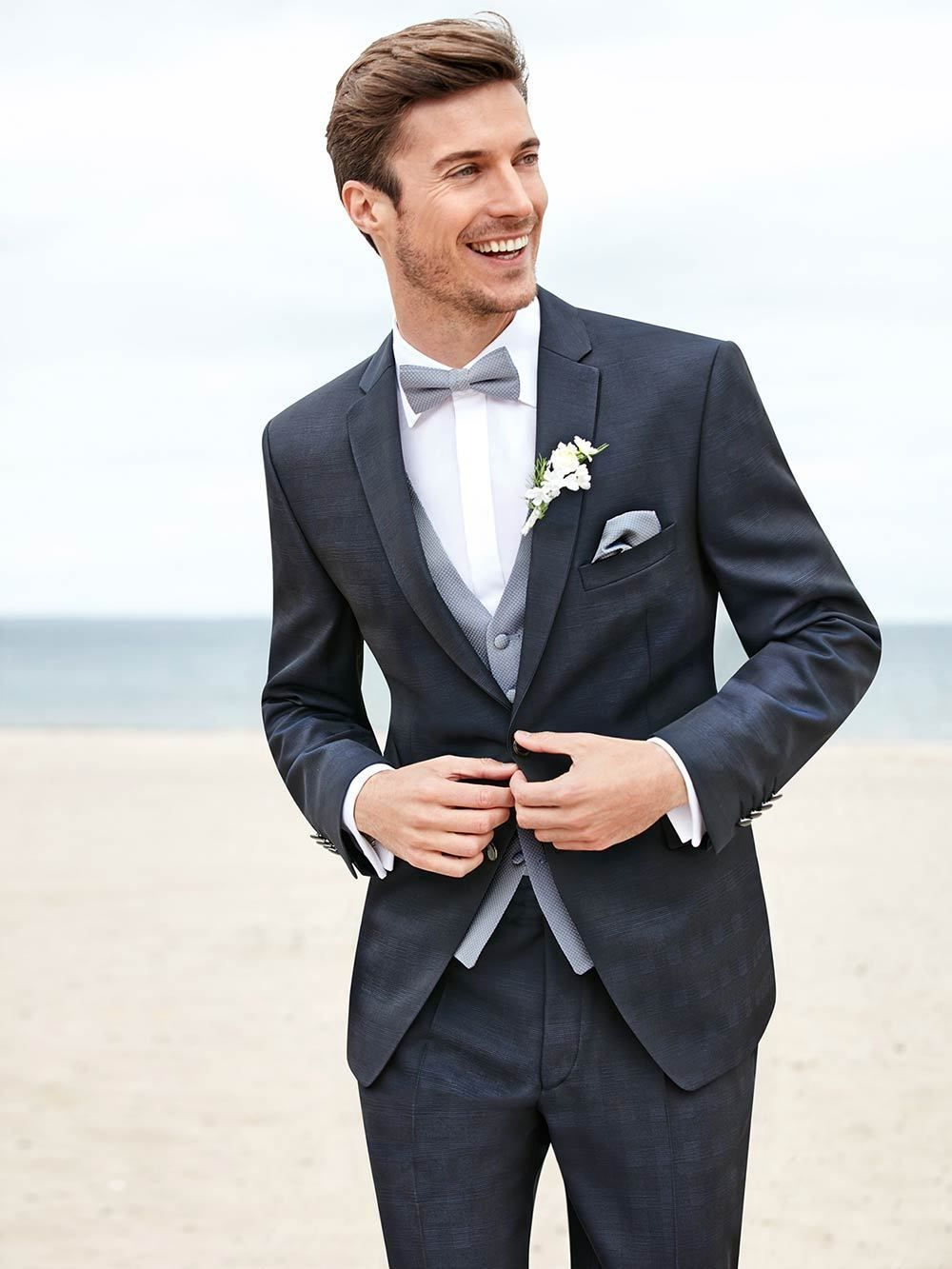 Image result for medium grey groom tux | Gray | Pinterest | Gray ...