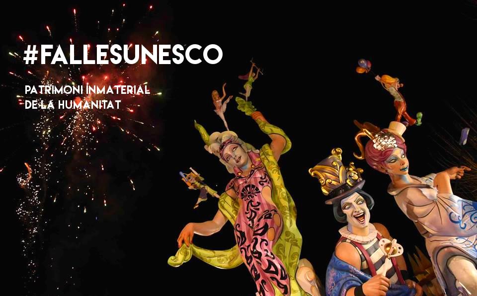 Les Falles, nostra festa ha estat declarada Patrimoni Inmaterial de la Humanitat per la UNESCO! Enhorabona!  👉#FallesUNESCO #FallesDénia #FallaOeste ➡fallaoeste.com