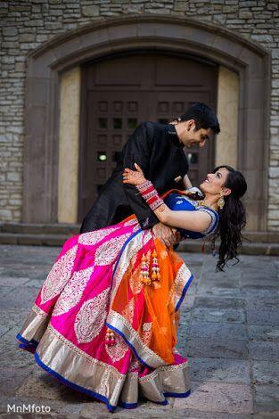Pre Reception Portraits In Dallas TX South Indian Wedding By MnMfoto