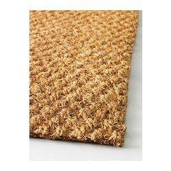 IKEA - SINDAL, Dørmatte, Enkelt å rengjøre – bare støvsug teppet eller rist det utendørs.Lateks på baksiden; teppet ligger på plass.