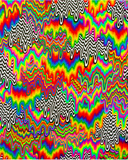 """""""Drip cascade"""" 200count edition print by LAbased"""