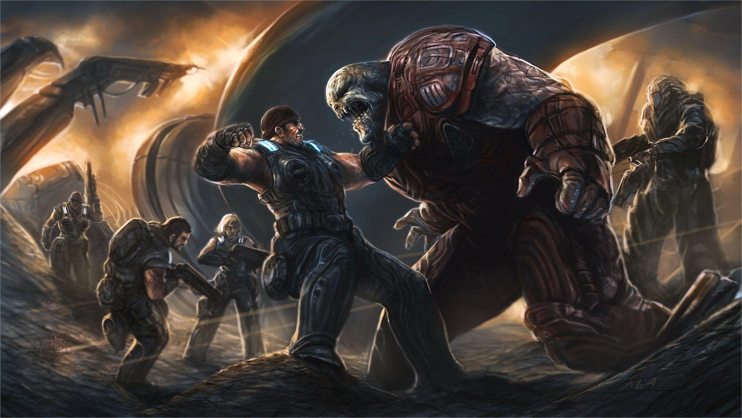 4k Gears Of War Wallpaper In 2020 Gears Of War 3 Gears Of War Gears Of War 2