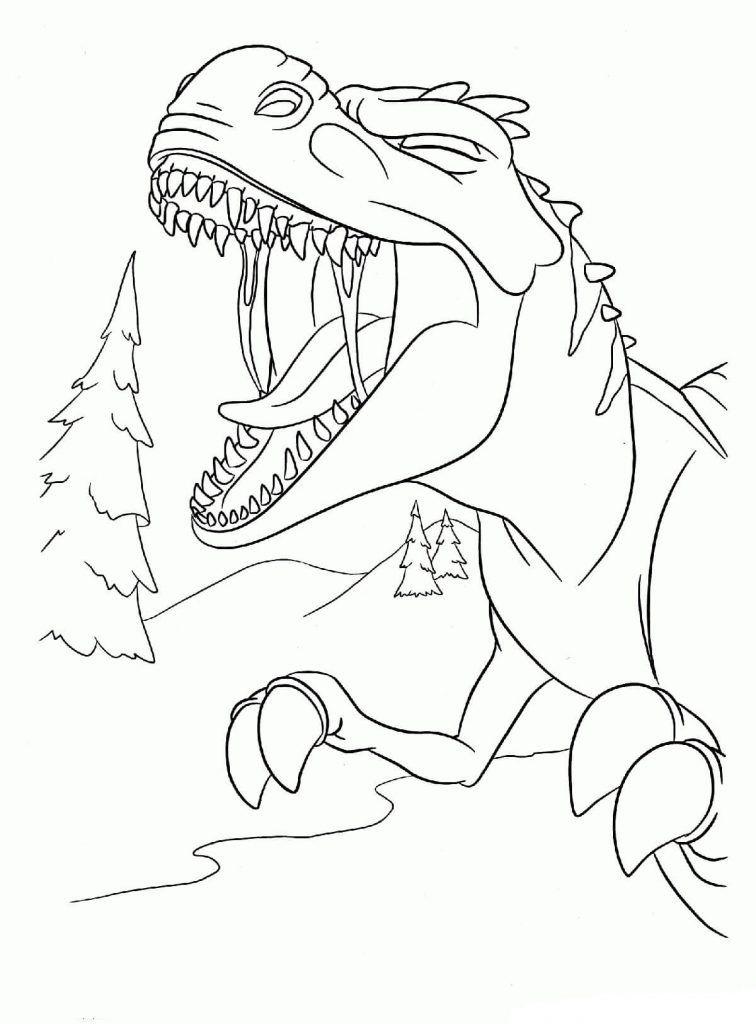 Dibujo Gratis Ice Age Dinosaur Cool Halloween Makeup