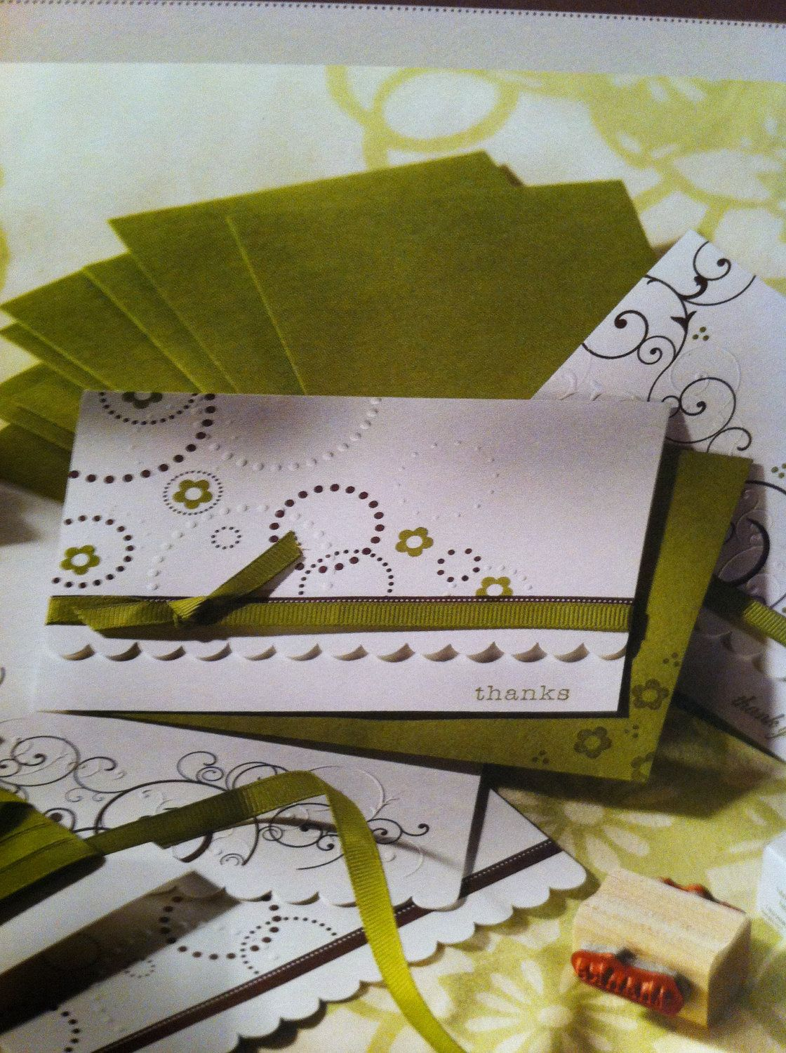 Stampin Up Simply Sent Thank You Stamp Set by TwoButtons4ever, $13.95