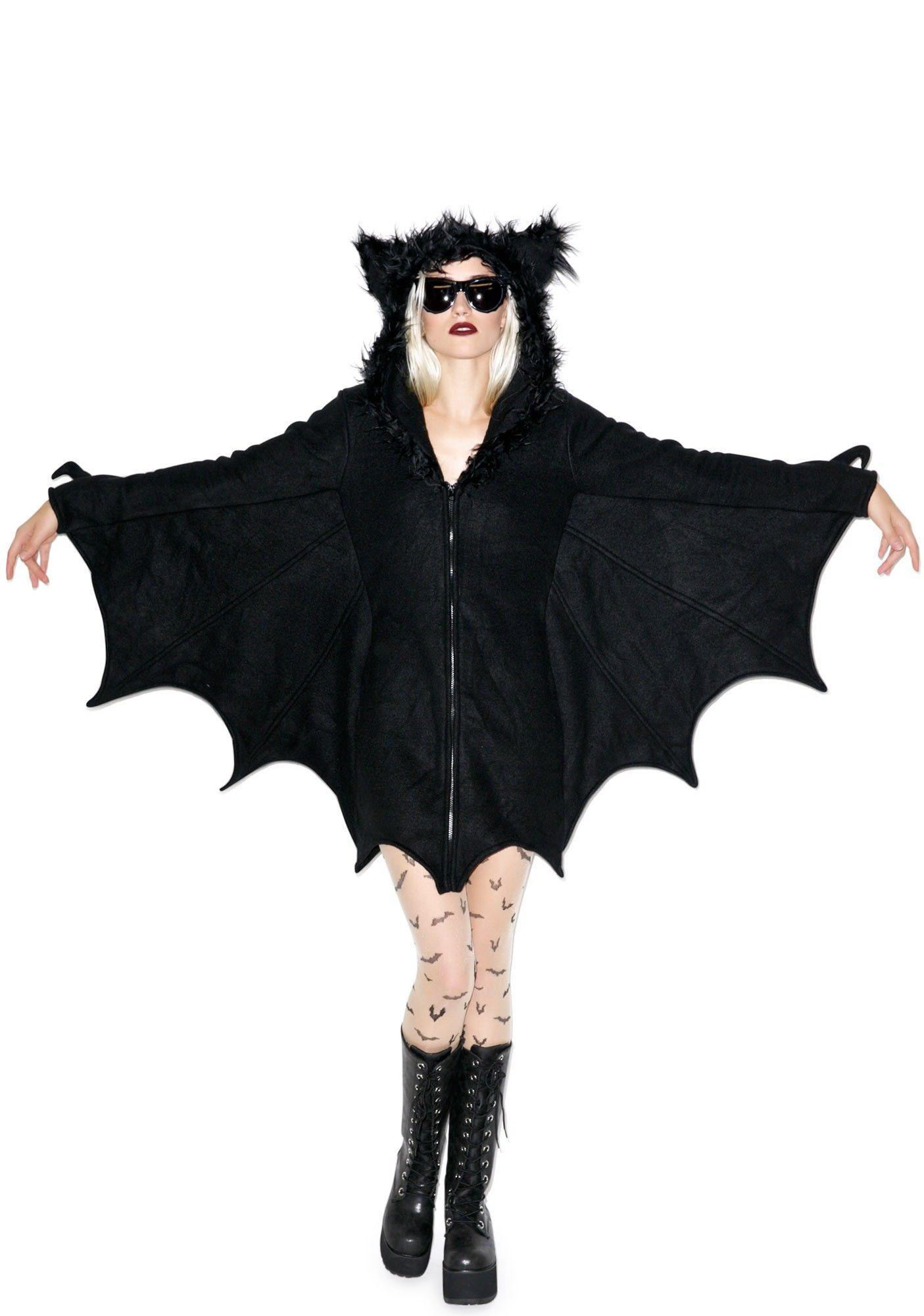 Hangin' Out Bat Hoodie Bat costume, Halloween costumes