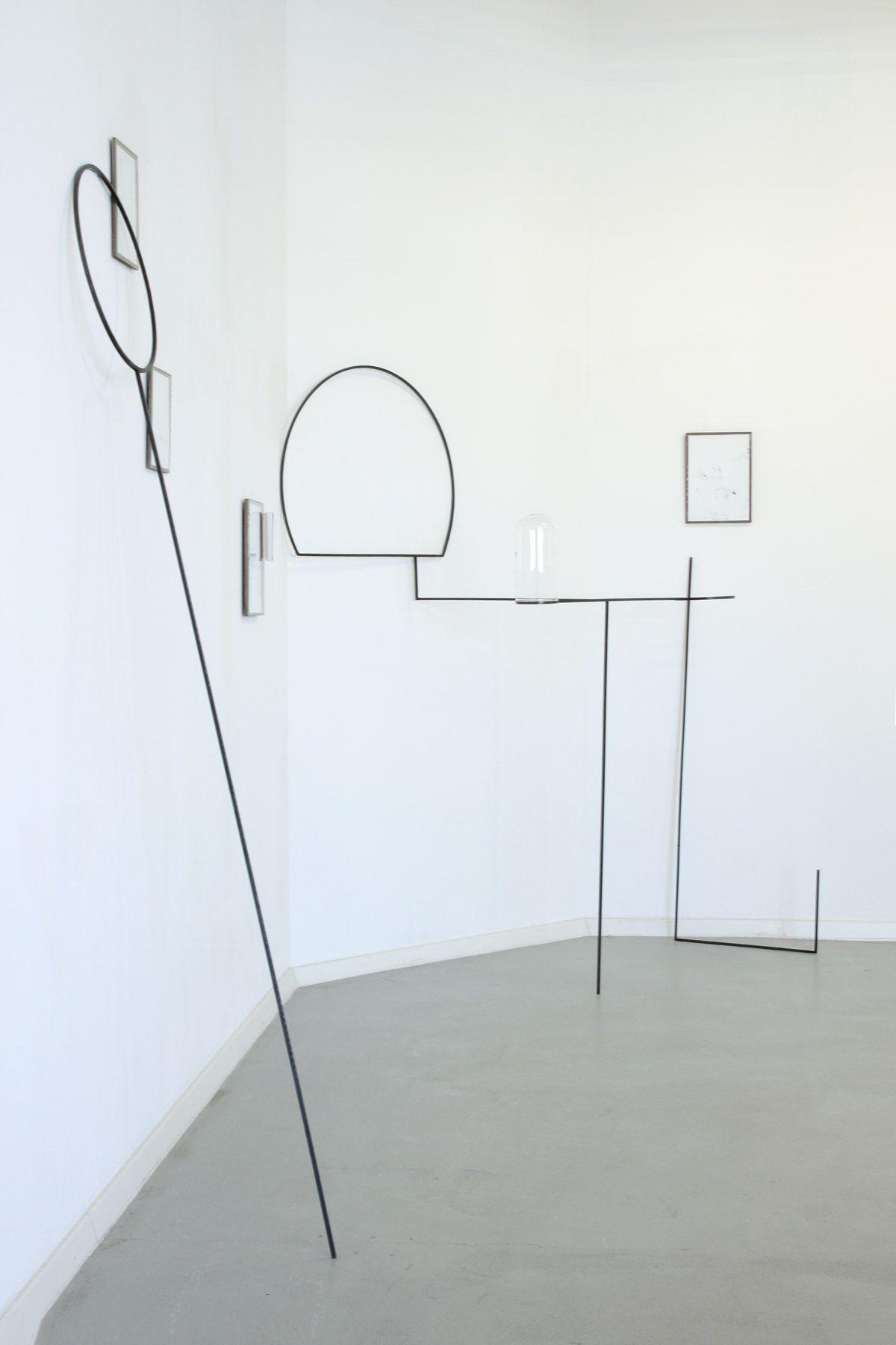 Nina Annabelle Märkl | Exhibition View Fragments Of Some Parallel Universe | Platform 3 | München | 2010