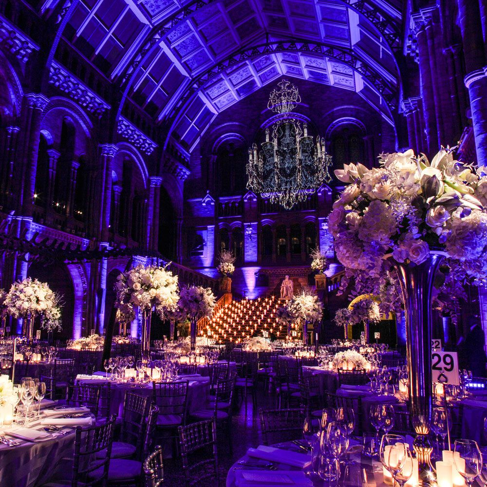 Best uk wedding venues british wedding natural history for Places to have receptions for weddings