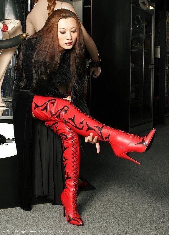 High heeled shoe sex