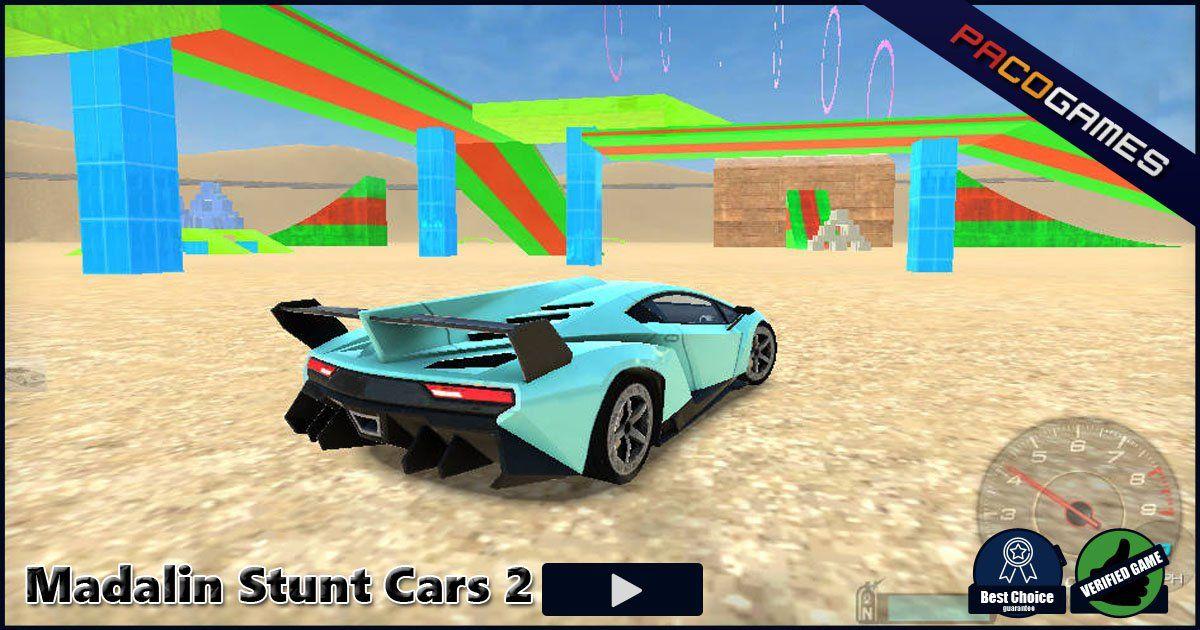Madalin Stunt Cars 2 juego en línea gratis en PacoGames