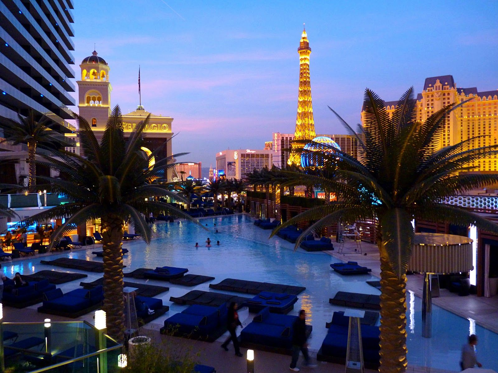 Las Vegas Resort Pools Part 1 Luxury