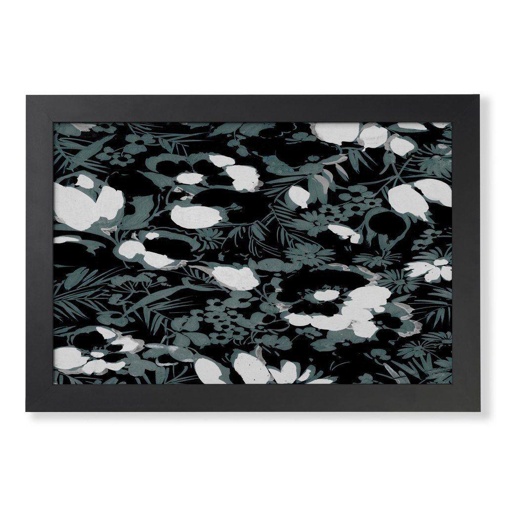 Vintage slate florals