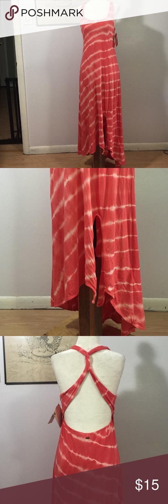 Roxy Tye Dyed Beachy Dress- Med NWT Super soft & comfortable viscose/rayon blend- brand new💖💕 Roxy Swim Coverups