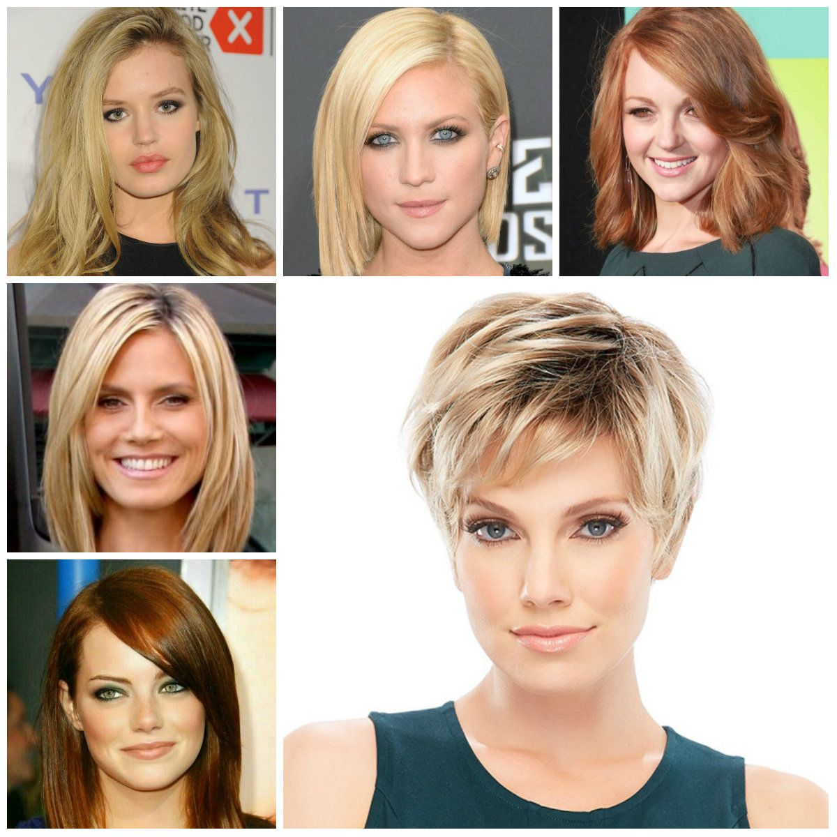 Easy hairstyles for round face shapes - 2016 Best Hairstyle Ideas For Round Faces Hairstyles 2016 New Haircuts And Hair Colors From