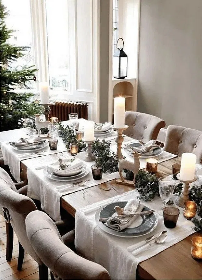 153 Best Christmas Table Decorations For All Your Holiday